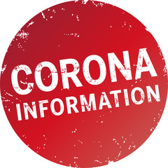corona button rund